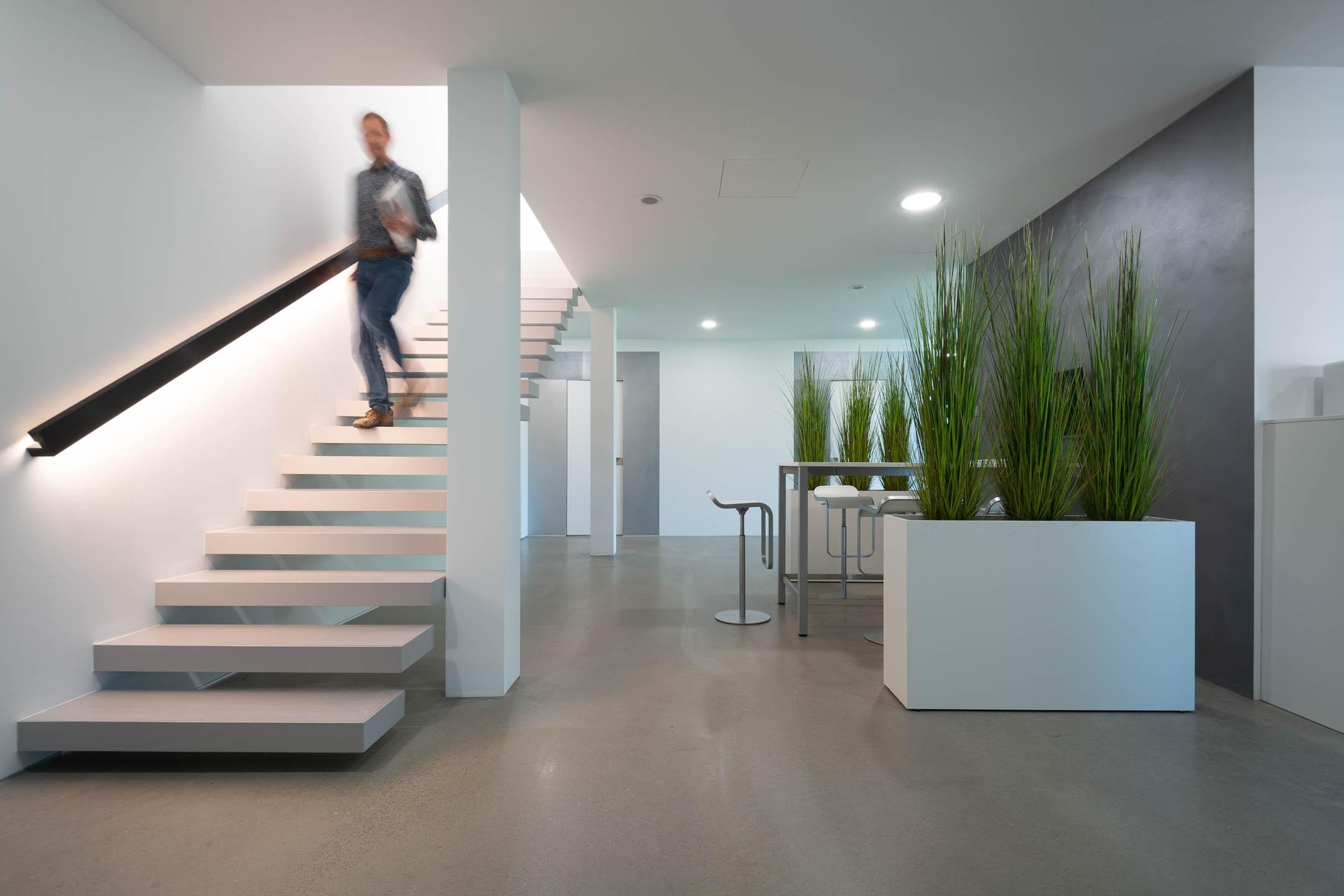 Derksen Firmengebäude - Foyer