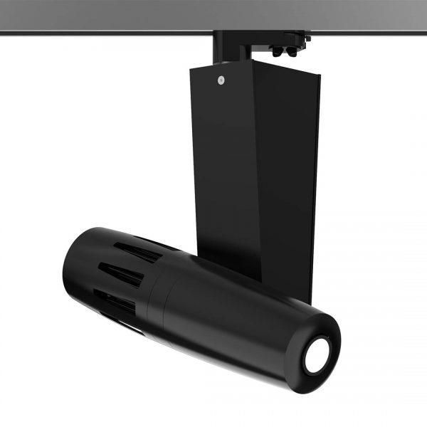 PHOS Gobo-Projektor für die Stromschiene - schwarz