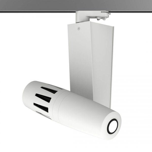 PHOS Gobo-Projektor für die Stromschiene - weiß