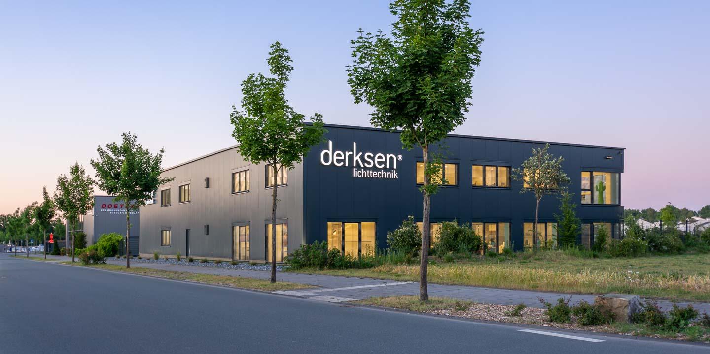 Firmengebäude Derksen Lichttechnik GmbH