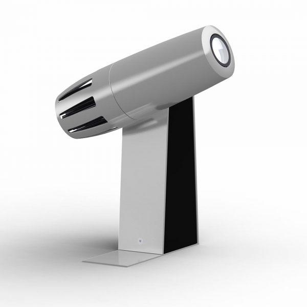 PHOS Gobo-Projektor für Innenräume - silbern