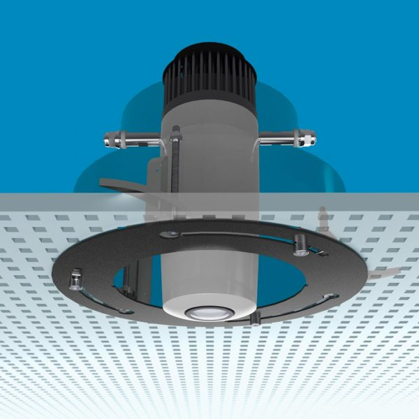 gobo projector for suspended ceilings