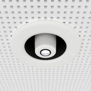 Gobo-Projektor für den Einbau in die Decke - weiß