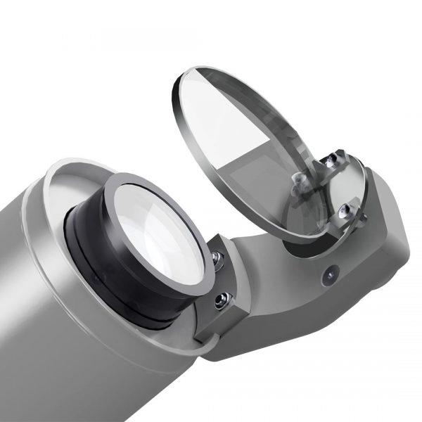 Prisma - Effekt für Gobo-Projektor - silbern
