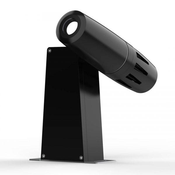 PHOS 25-85 outdoor Projektor, Vorderseite